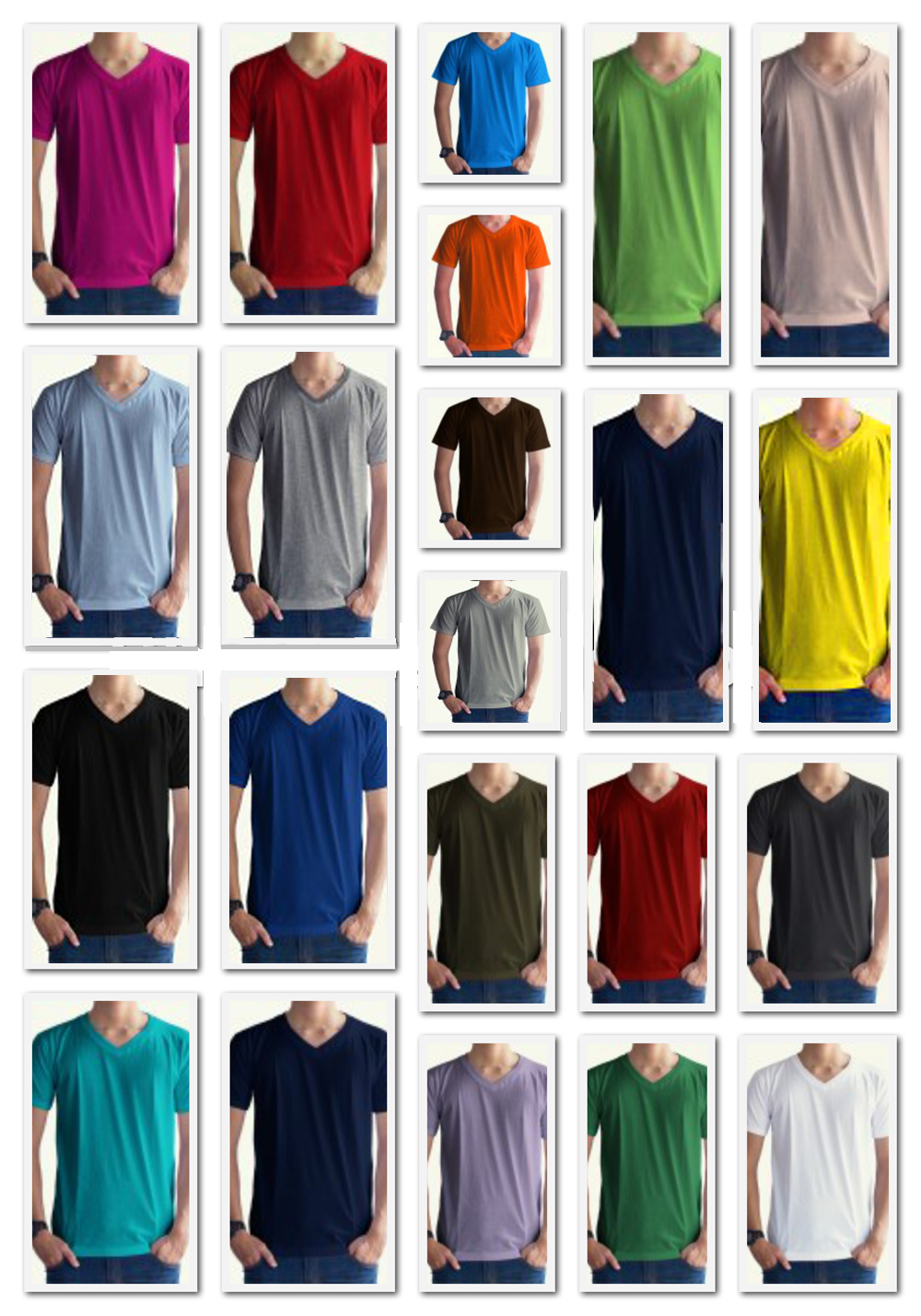 collage vneck 1